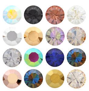Genuine PRECIOSA 431 11 615 Chaton MAXIMA Round Stones Crystal Effects Colors