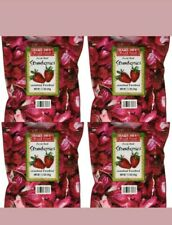 4 Pack Trader Joe's Freeze Dried Strawberries Unsweetened Unsulfured 1.2 oz Each