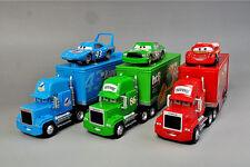 Disney Pixar Cars Set of 3 86htB 43 King Lightning McQueen & Mack Truck Toy Car