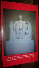 Us State Lincoln Cent Penny Advertising Brochure Numismatic