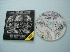VIRGIL & THE ACCELERATORS All Night Long (Radio Edit) promo CD single