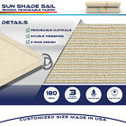 12' 16' Triangle Sun Shade Sail Fabric Garden Patio Pool Awning Canopy Cover