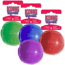 KONG SQUEEZE BALL jouet  balle pour chien avec sifflet taille M , L, XL