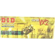 DID 520x122 Links VX2 Pro-Street Series Sealed X-ring Black & Gold Chain