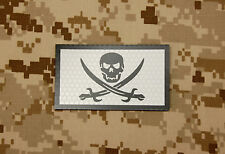 SOLASX IR Reflective Calico Jack Patch AOR1 US Navy SEAL  ST6 NSWDG USCG