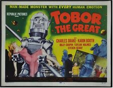 TOBOR THE GREAT ORIGINAL VINTAGE MOVIE POSTER TITLE LOBBY CARD 1954