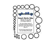 Smart Parts Vibe Paintball Marker O-ring Oring Kit x 2 rebuilds / kits