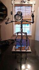 Cool Steampunk Robot Reading Or Desk Lamp..Rare