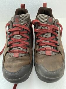 Merrell Annex Trak Low Mens Dark Brown Walking Trainers Shoes Uk 10.