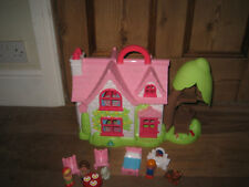 ELC HAPPYLAND CHERRY LANE OPENOUT COTTAGE PLAYFIGURES FURNITURE ANIMAL OPEN PART