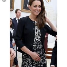 Tory Burch Sophia A-Line Floral Print Dress, Duchess Kate Celeb Size Large