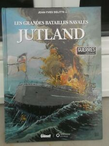 LIVRE BANDES DESSINEES LES GRANDES BATAILLES NAVALES JUTLAND
