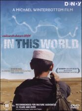 IN THIS WORLD - Afghan Orphan Pakistan - Michael WINTERBOTTOM Film DVD Region 4