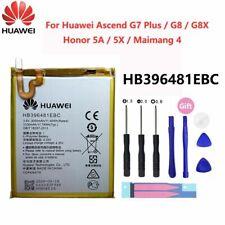 For Original Huawei Honor 5X 5A G7 Plus G8 G8X HB396481EBC New Battery 3000 mAh
