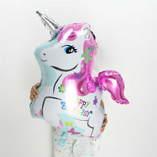 Birthday Inflatable Foil Helium Balloons Horse Unicorn Toys Party Room Decor