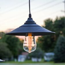 LitezAll LED Edison Bulb Pendant Lamp battery operated 150 hour Run Time