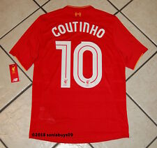 New Balance Men's COUTINHO Liverpool Soccer Jersey, MT63001, Red, US Size S & M