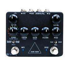 New Keeley Dark Side Delay Fuzz Phaser Flanger Guitar Effects Pedal!