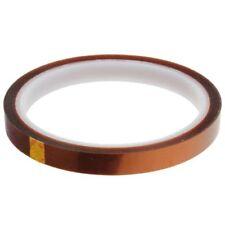 10mm Banda Cinta Resistente Al Calor Adhesiva Caliente hasta 350 °C Térmico