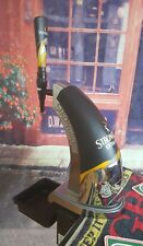 Vintage STRONGBOW Bar Pub Beer Pump Font Handle With Light . Home Shed Man Cave