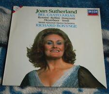 JOAN SUTHERLAND BEL CANTO ARIAS DUTCH LP DECCA DIGITAL 417 253-1 BONYNGE BOOKLET