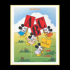 "Mali, Sc #800, Mnh, 1996, S/S, Disney, ""A B C de Mickey"", Di020F"