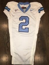 Game Worn Used Nike North Carolina Tar Heels UNC Football Jersey #2 Size 48