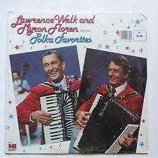 LAWRENCE WELK MYRON FLOREN present Polka favorites  I 024 S/S NEUF