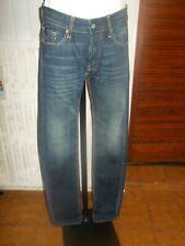 Pantalons Jeans JAPAN RAGS 611 basic bleu foncé coupe ajustée w28 38fr 18ts30