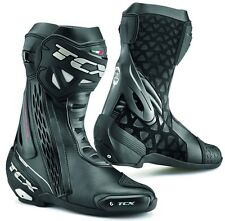 STIVALI BOOTS MOTO RACING SPORT TCX RT-RACE NERO BLACK  TORSION CONTROL TG 42