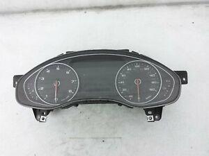 14 15 Audi A6 Quattro Speedometer Meter Instrument Gauge Cluster Odometer Oem