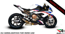 BMW S1000RR 2019 SLIP-ON TITANIUM EXHAUST - AUSTIN RACING GENUINE