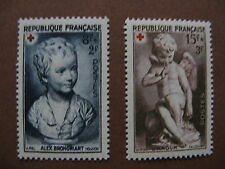 FRANCE neufs  n° 876-877  Croix-Rouge (1950)