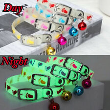 Dogs & Cats Collar Night Luminous Collar With Bell Dog Cat Neck Ring Neck Ring