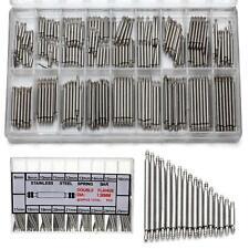 360pcs Watchmaker Watch Band Spring Bars Strap Link Pins Steel Repair Kit Tool