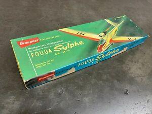 Graupner's  The FOUGA SYLPHE JETEX Plane Kit
