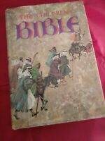THE CHILDREN'S BIBLE * Golden Press * Vintage 1976 Hardcover Old New Testament