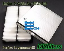 Engine&Cabin Air Filter AF6280 For Mazda3 Mazda6 CX-5  2014 2015 2016 US Seller