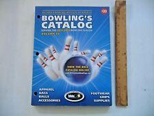 Billiard & Bowling Institute of America Bowling's Catalog 2015-2016 Volume IV