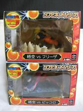 New! Lot 2 Dragon Ball Z Soft Vinyl net series Goku VS Freezer & Goku VS Piccolo