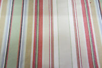 Remake Brick Striped Woven Cotton  140cm wide Curtain/Craft Fabric
