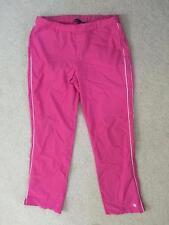 Champion elite athletic pants womens size M medium pink polyester track pants