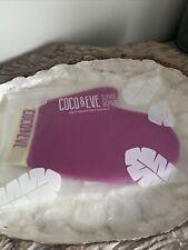 COCO & EVE Soft Velvet Tanning Mitt GLOVE PINK IN REUSABLE WATERPROOF POCKET BAG