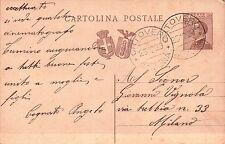 INTERO POSTALE DA 30 CENT. DA ONZO PER MILANO 1929 C10-752