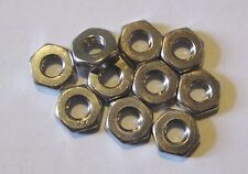 """10-24 (3/16"""") UNC Full Nuts Stainless Steel (Qty 10)"""