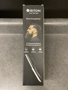 Beard Straightener for Men Ionic Hair Straightening Brush
