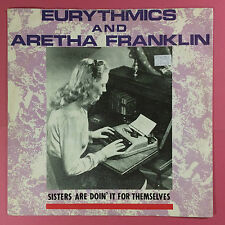 Eurythmics & Aretha Franklin - Sisters Are Doin It For Themselves, RCA PT-40340