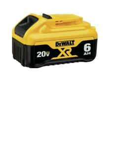 DEWALT DCB201 6.0 AH 20V LITHIUM-ION BATTERY