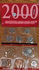 UNITED STATES MINT UNCIRCULATED COIN SET 2000 DENVER NEW IN ORIGINAL PACKAGE
