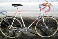 "AWESOME Vtg '81 Schwinn SUPER LE Tour 25"" SUMMERCLOUD White TALL MAN 12Spd Bike"